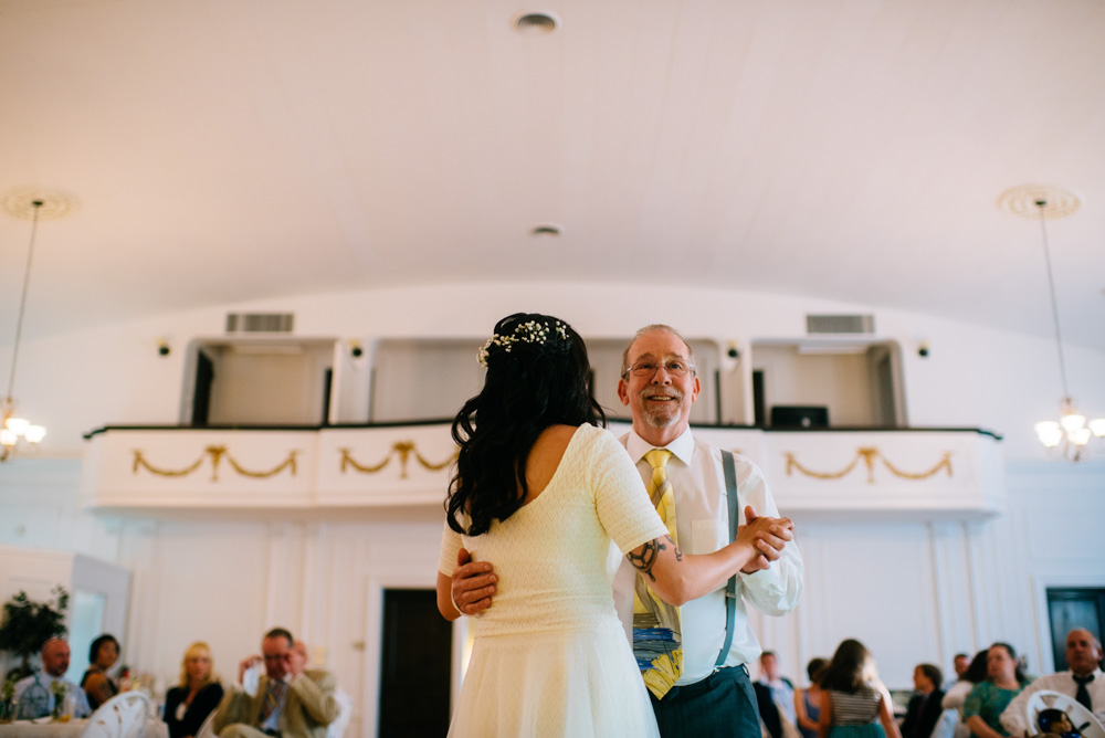 charleston wv womans club wedding reception father daughter dance