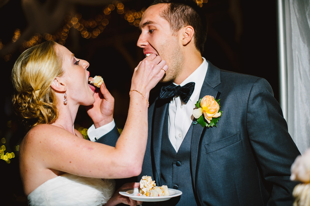 cake cutting photos by wv wedding photographers the oberports