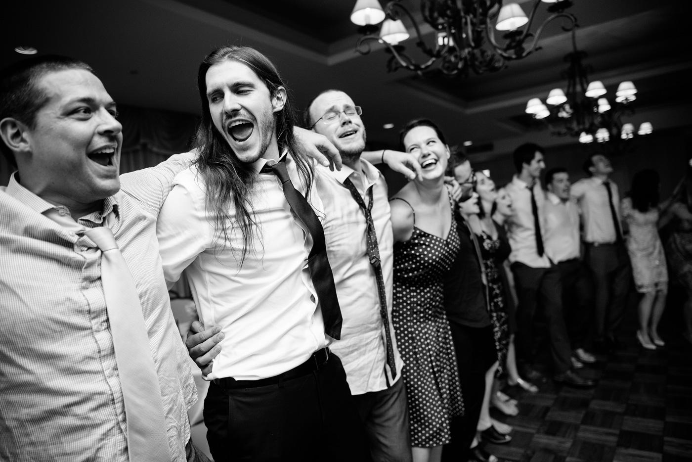 st clair country club wedding reception dancing