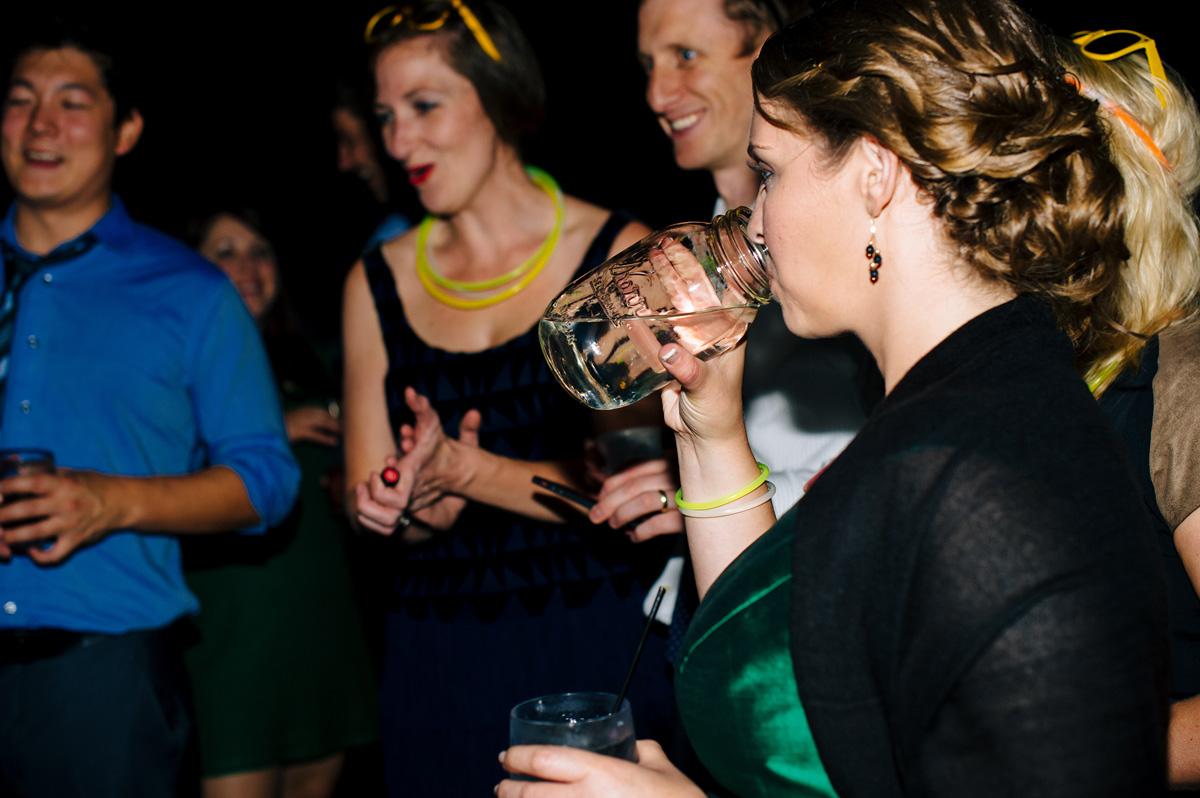west virginia wedding with moonshine