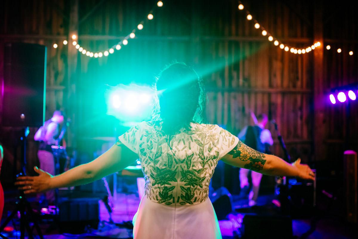 rustic acres wedding reception