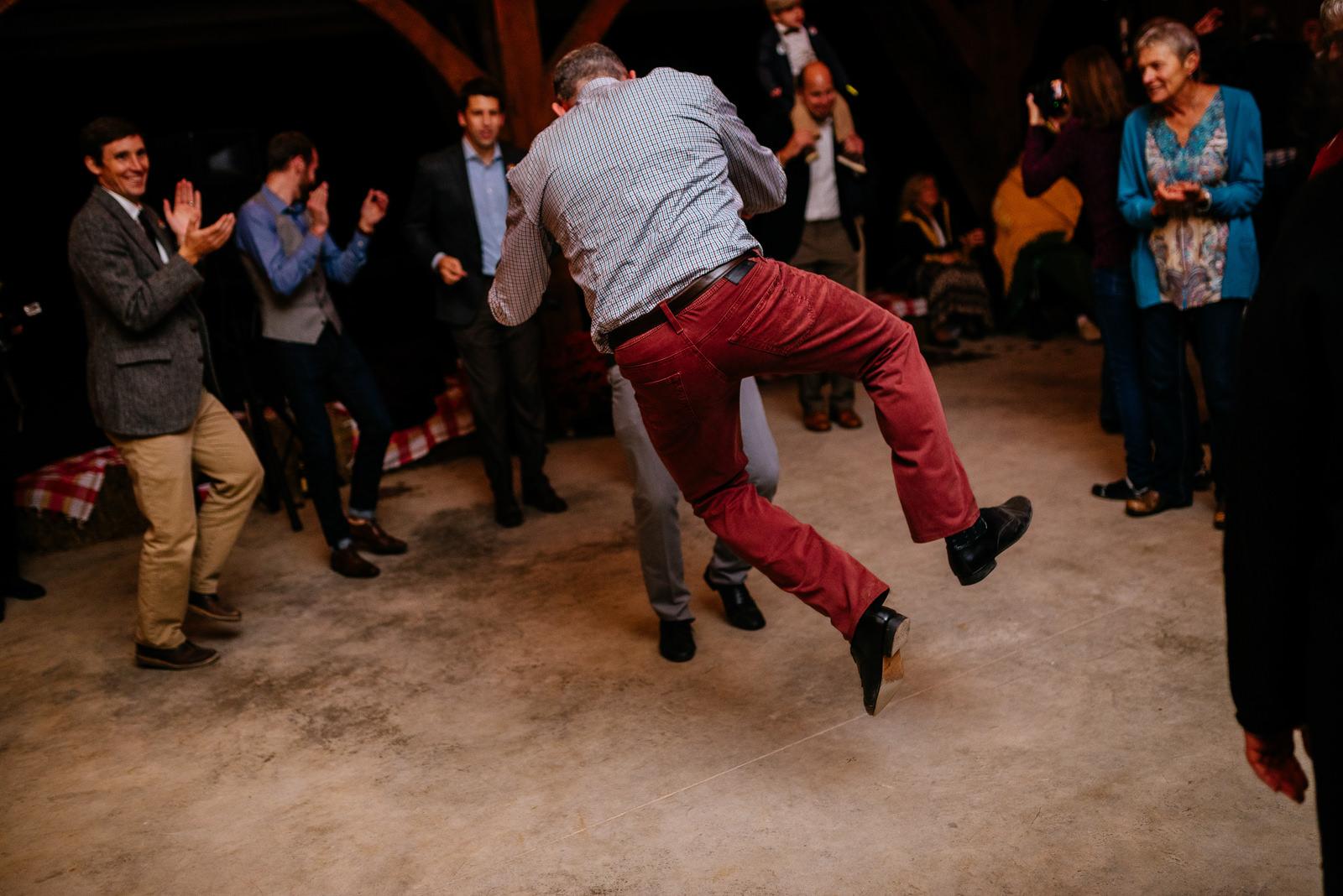 grooms dancing gay wv farm wedding