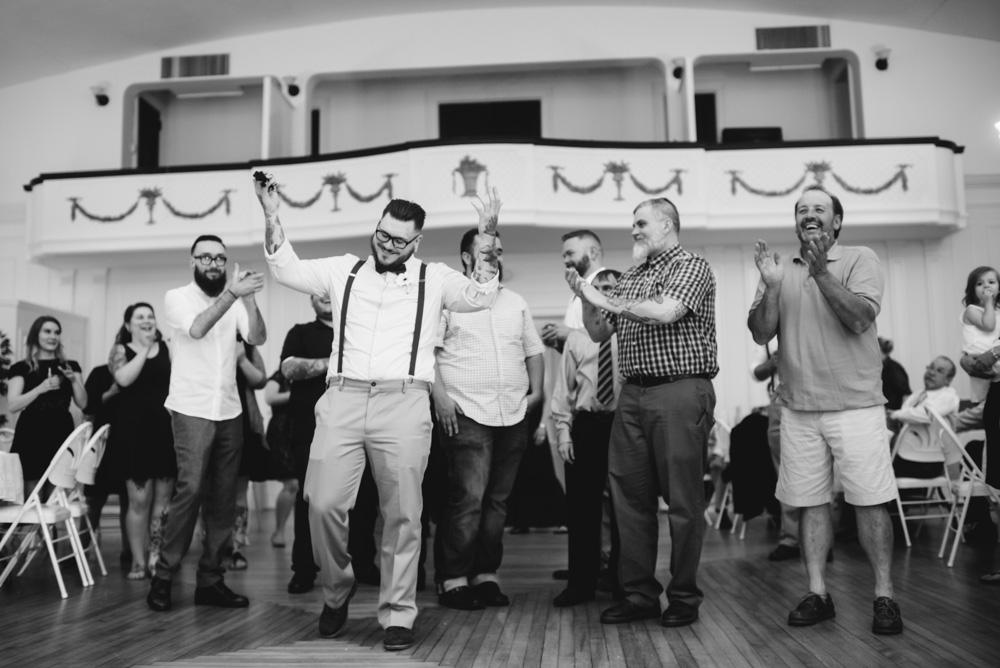 womens club charleston wv wedding garter toss
