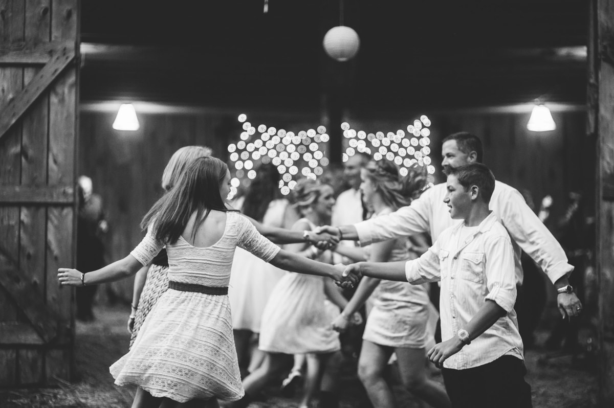 square dancing at weddings