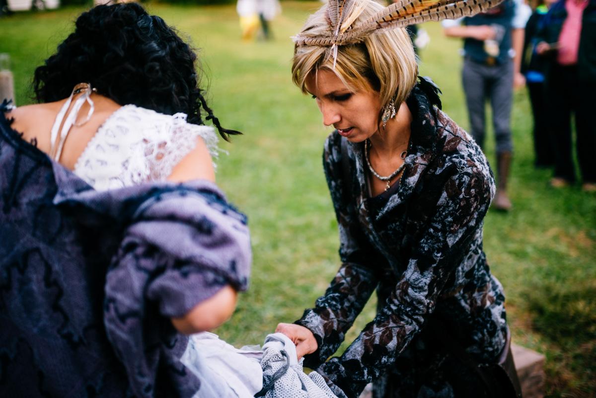 woodland punk rock wv wedding
