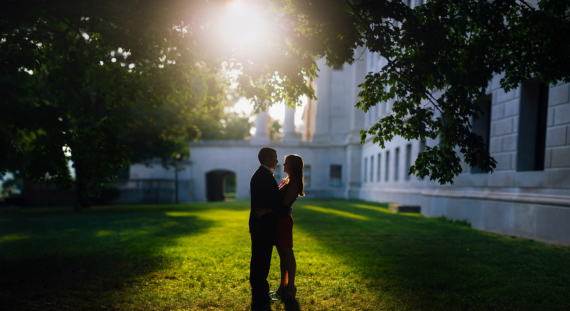artistic portraits by best wv wedding photographers the oberports silhouette