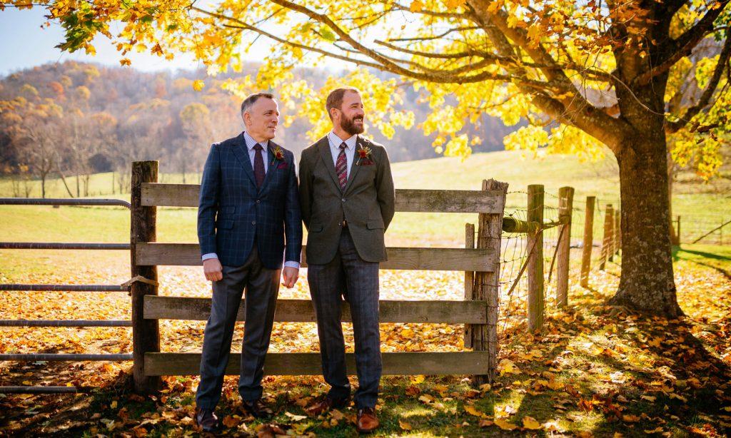 backyard farm gay wv wedding