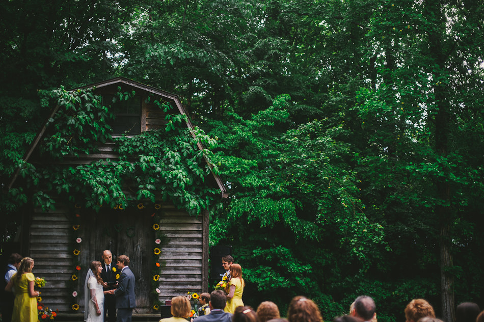 backyard wedding westvirginia