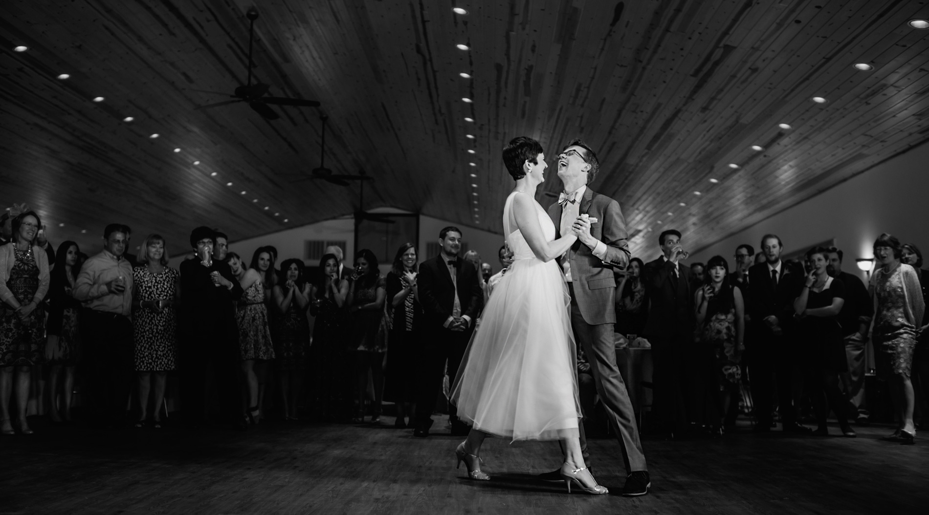 beautiful first dance at camp muffly