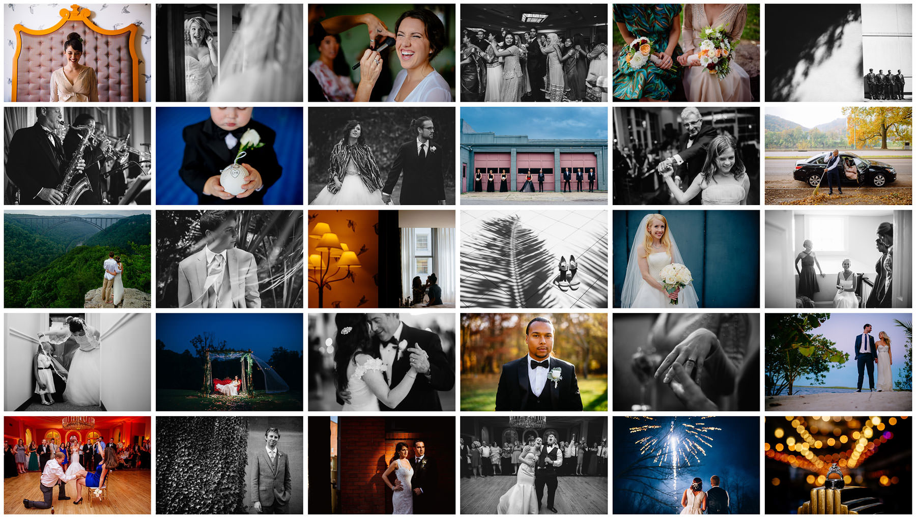 best of 2014 weddings the oberports grid