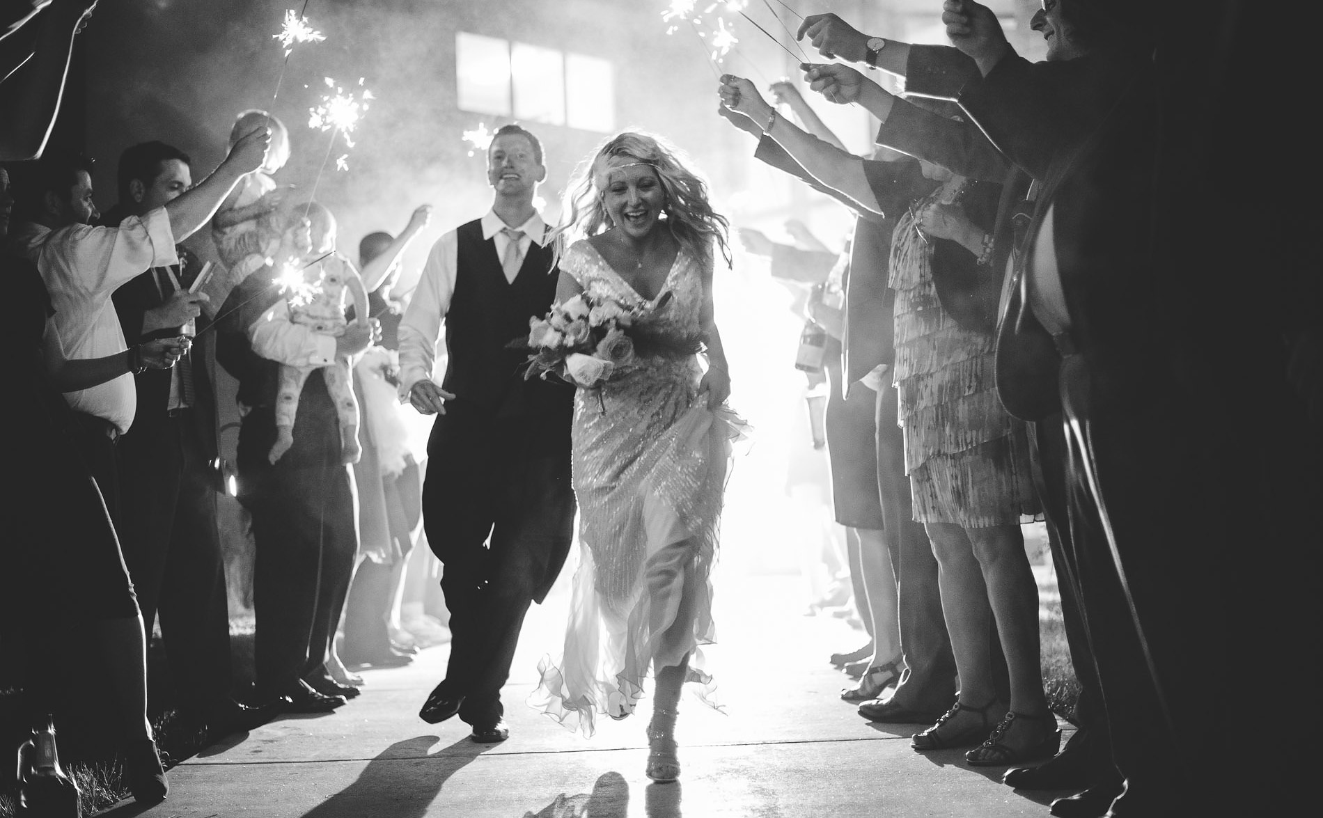 canaanvalleyinstitute wedding reception sparklers