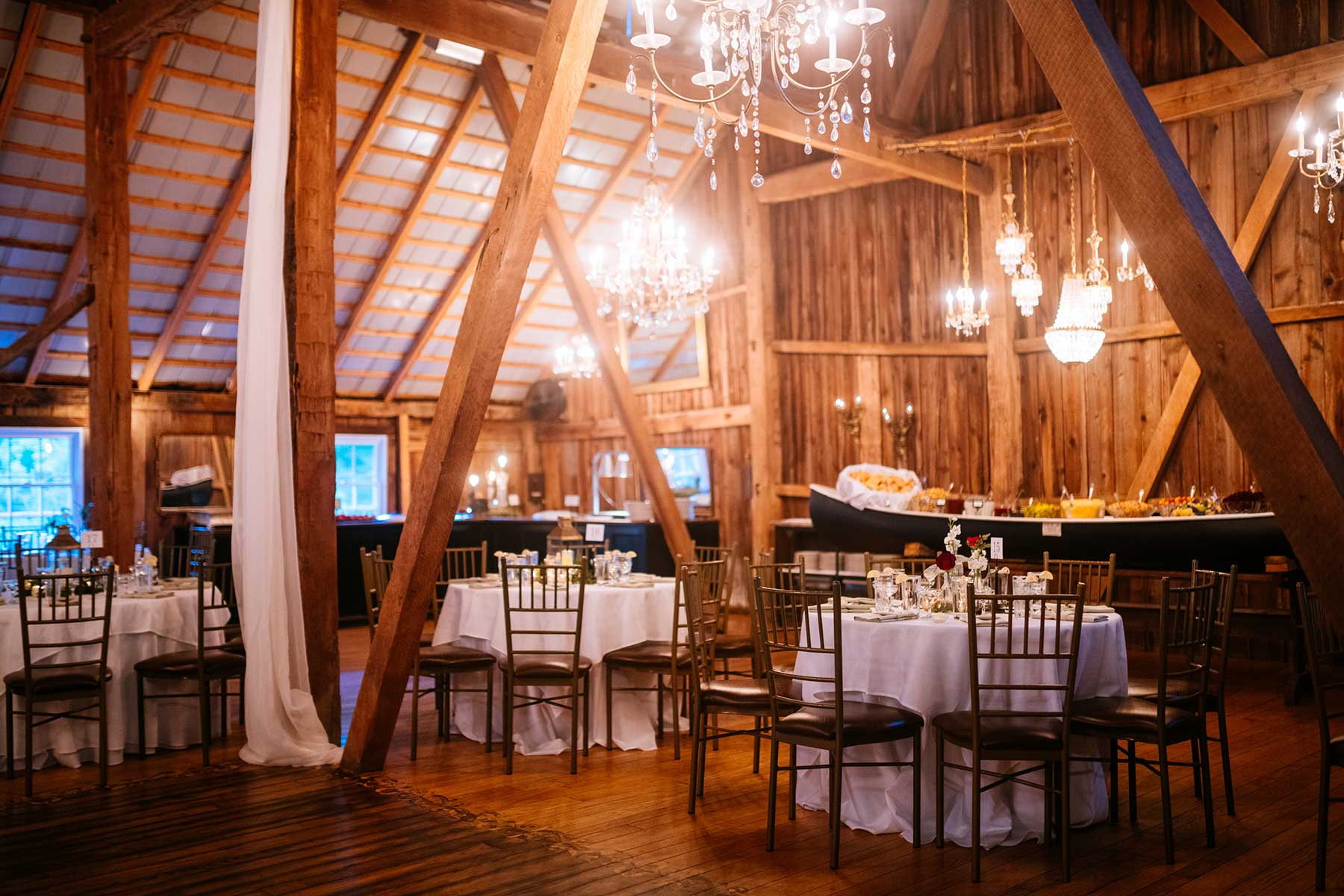 chanteclaire farm reception