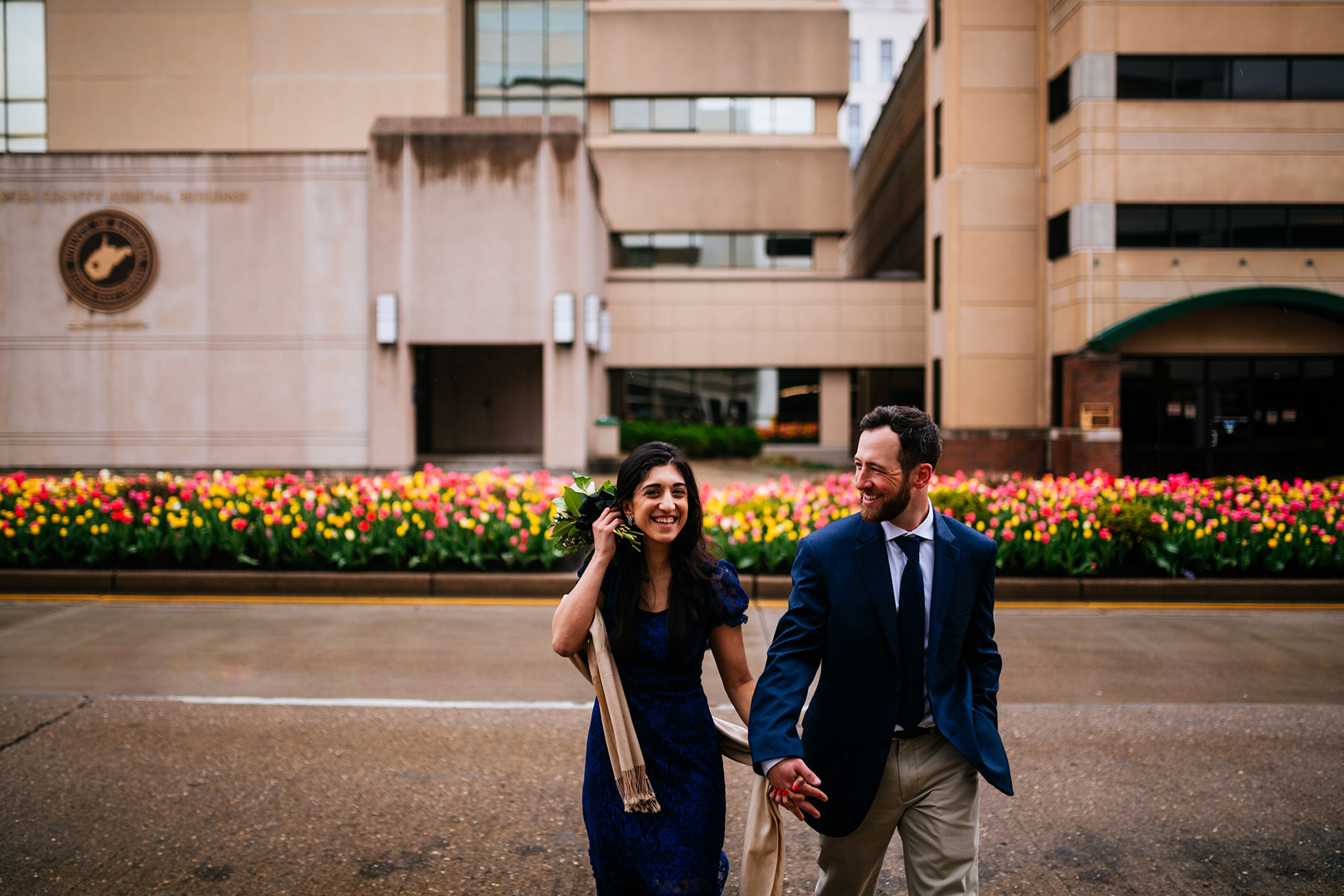 charleston wv courthouse elopement just married