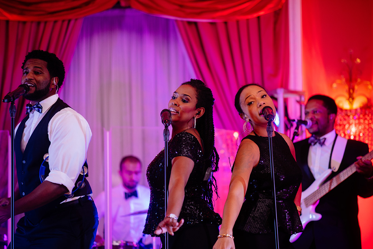 greenbrier resort wedding reception band