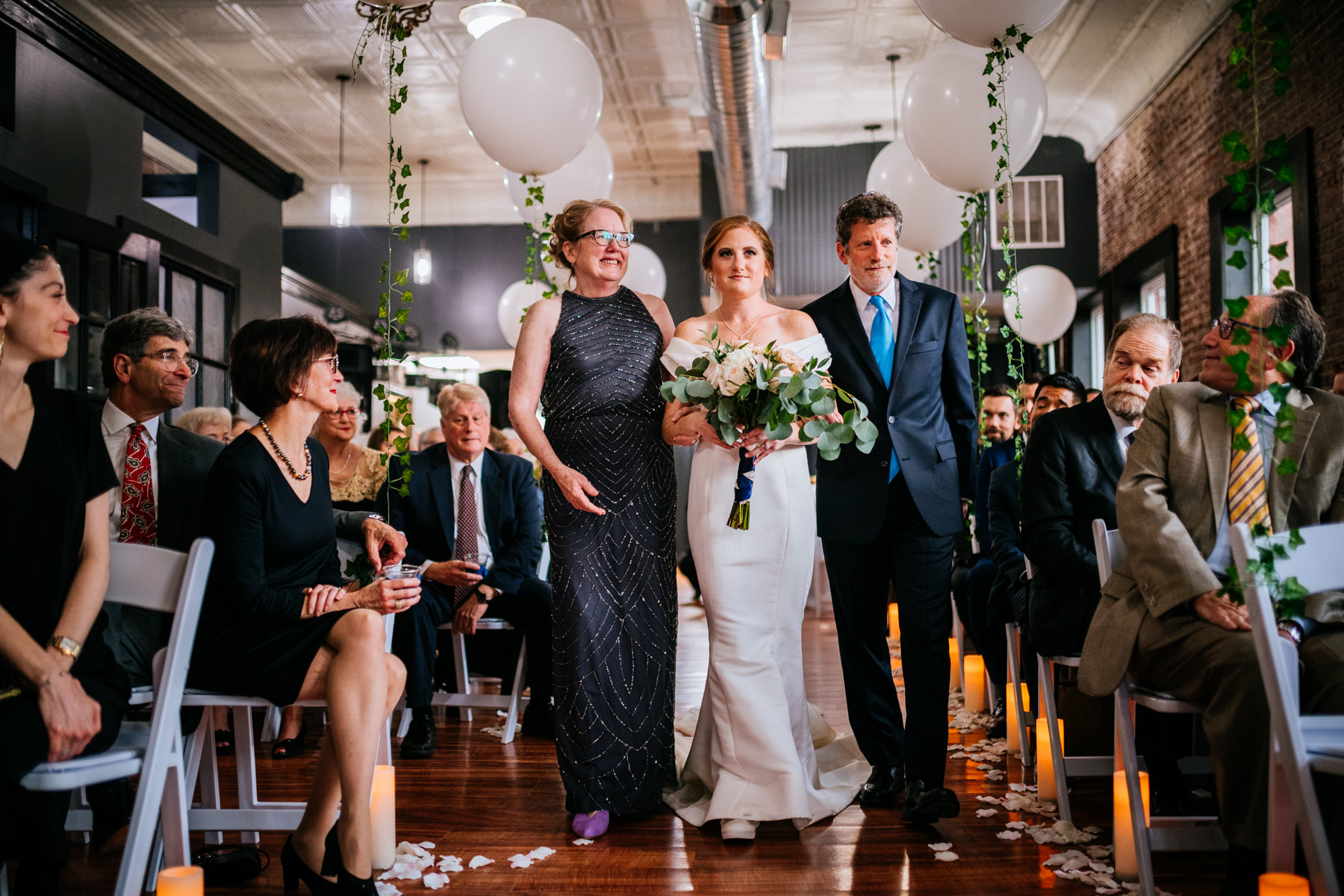 hale street center wedding ceremony