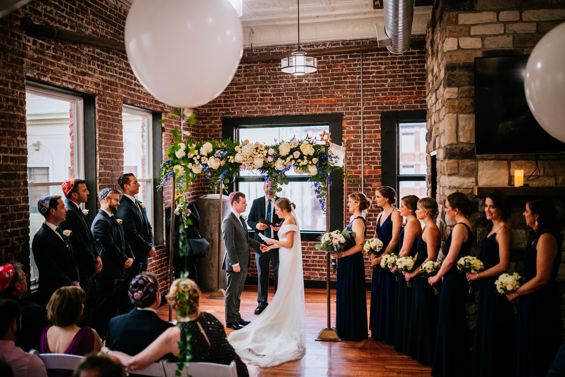 hale street center wedding