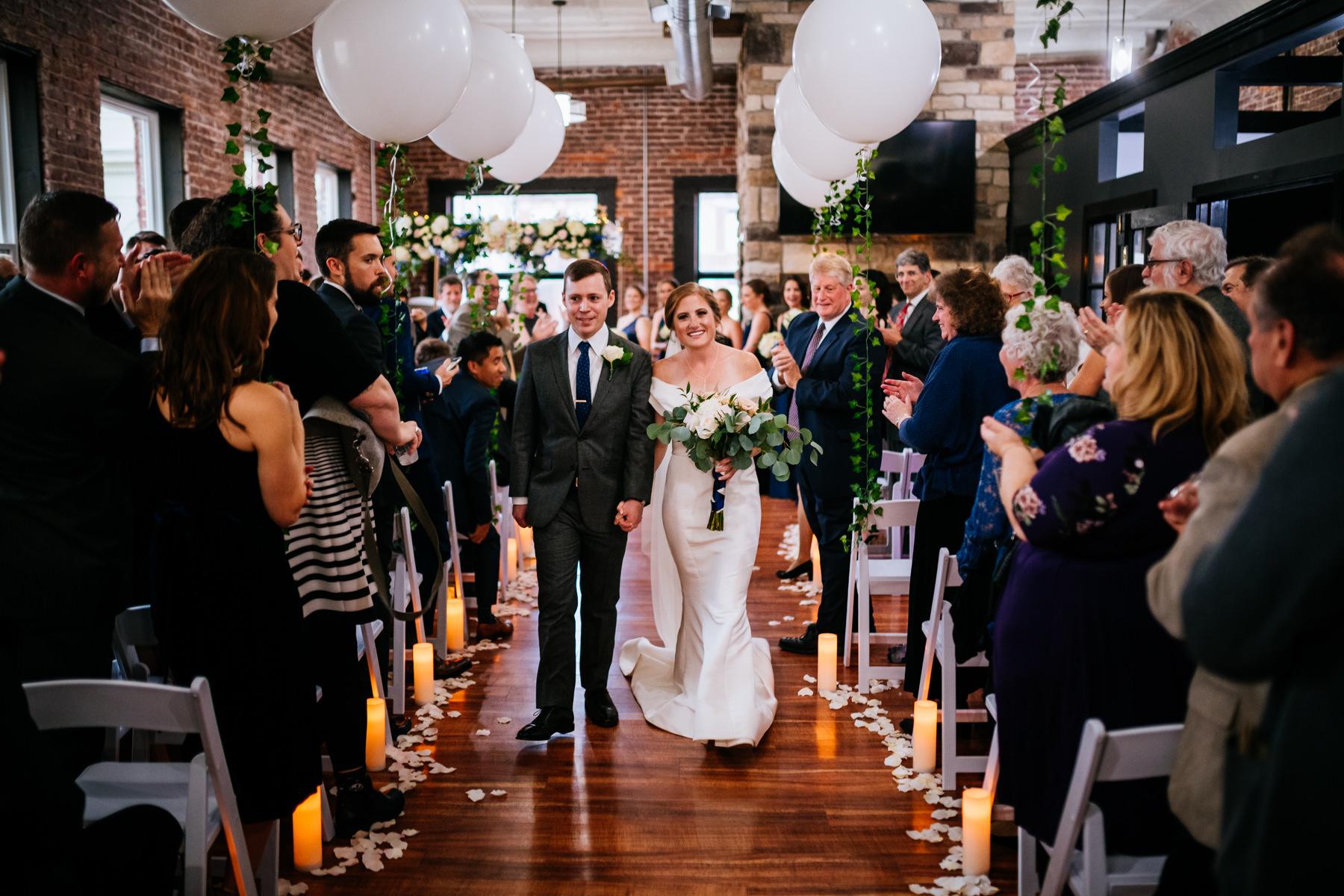 hale street center wedding charleston wv