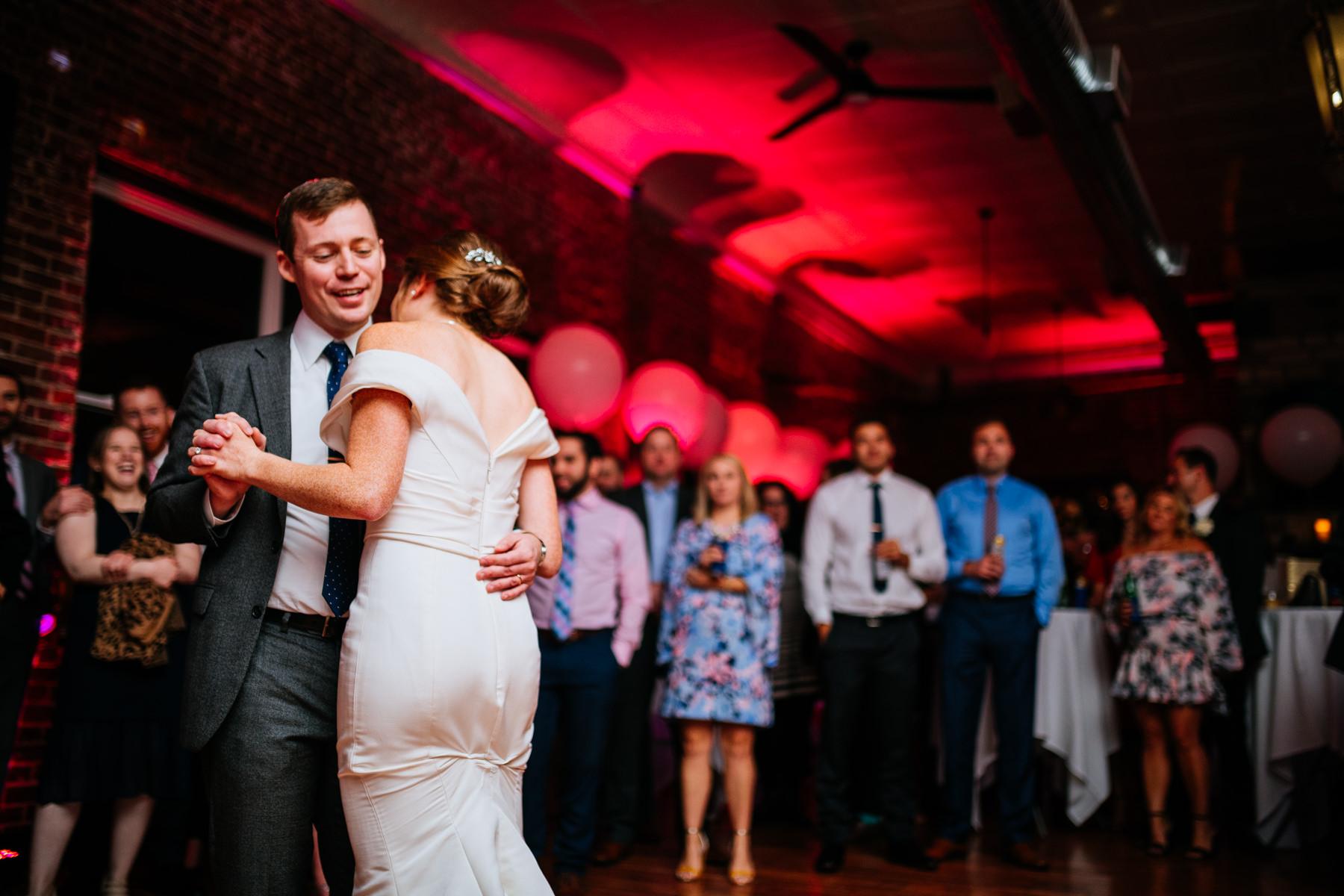 first dance hale street center wedding