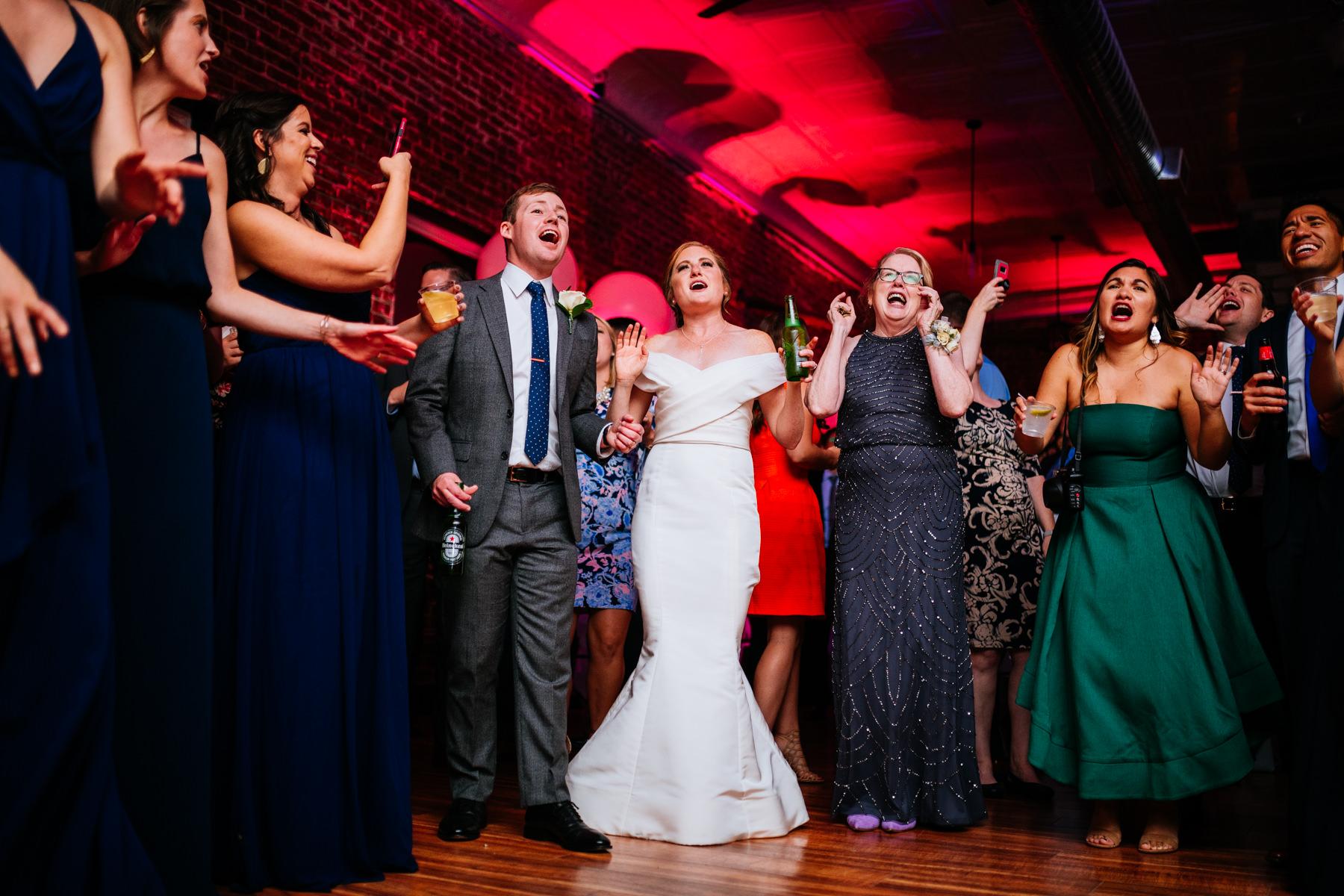 hale street center wedding reception