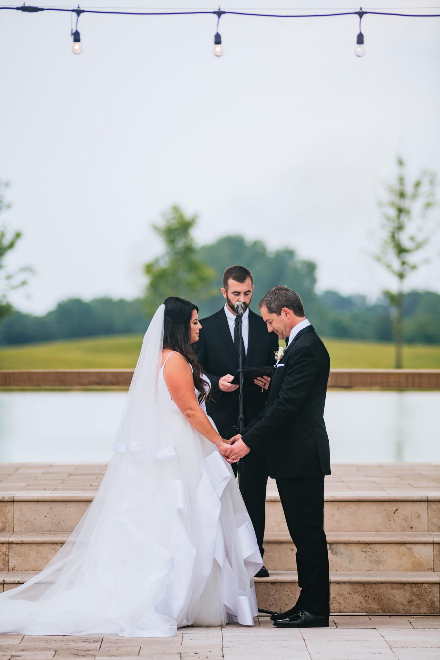 high acre farm wedding ceremony