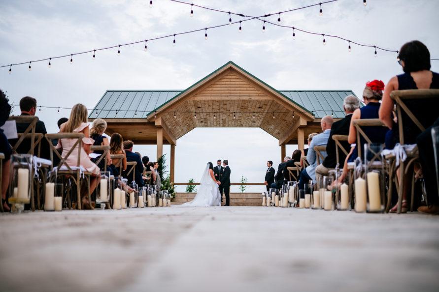 high acre farm piqua oh wedding ceremony