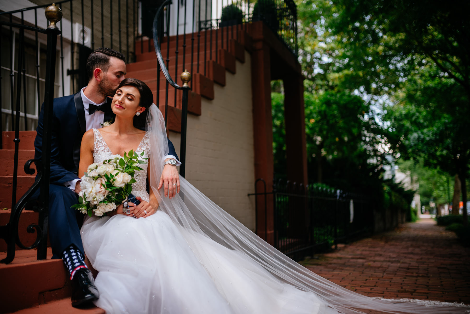 wedding portraits in georgetown