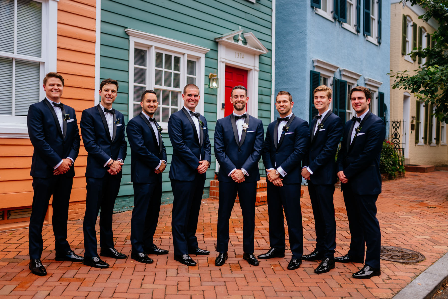 groomsmen in georgetown