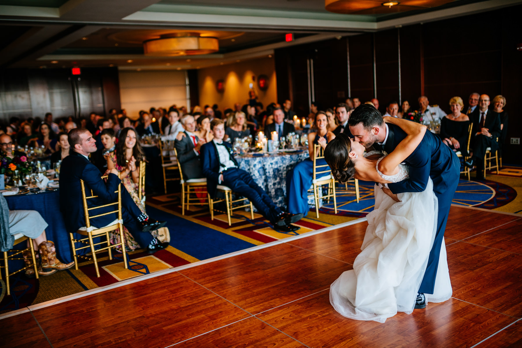 dip during first dance