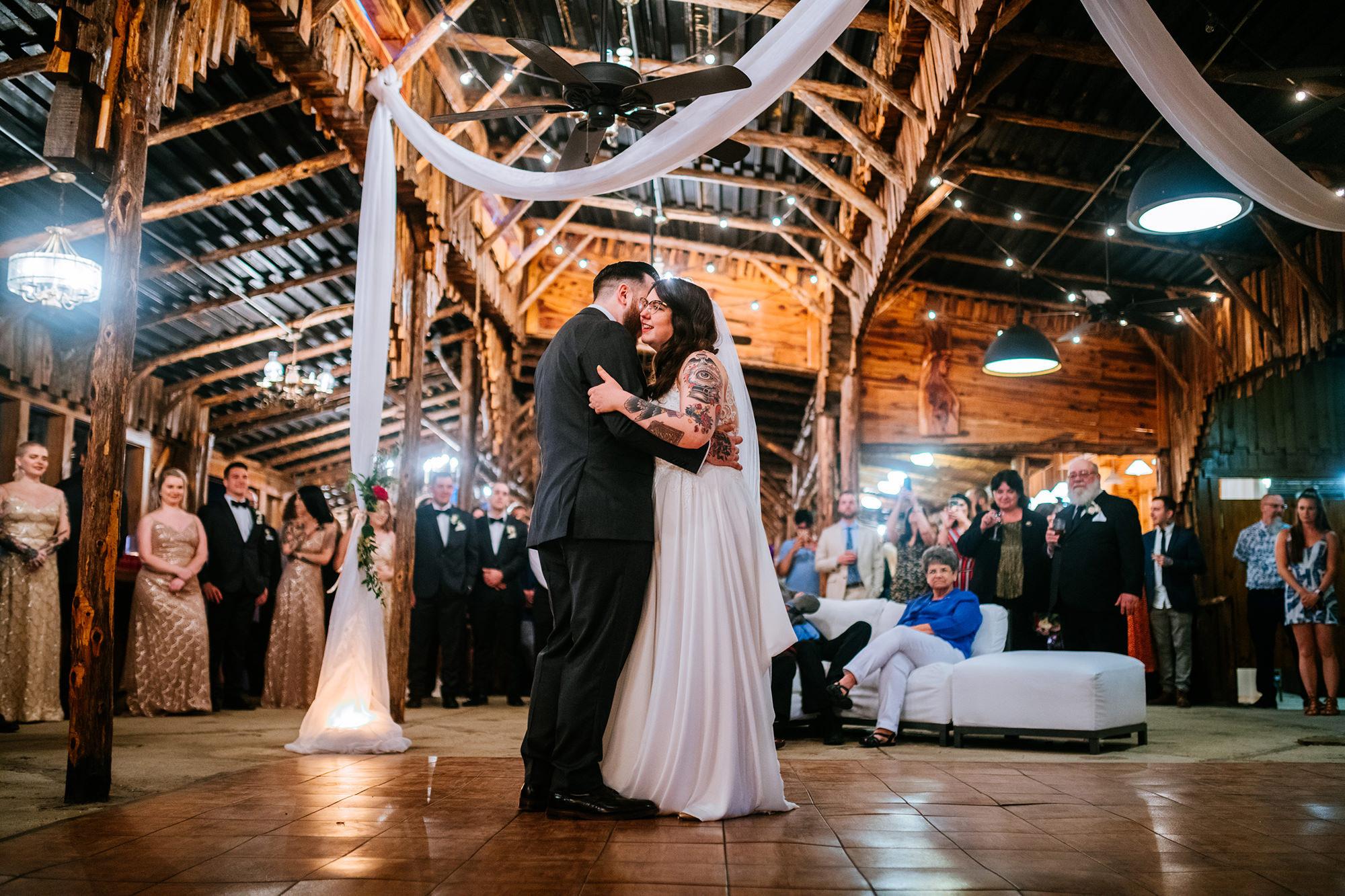 first dance legacy farms wedding