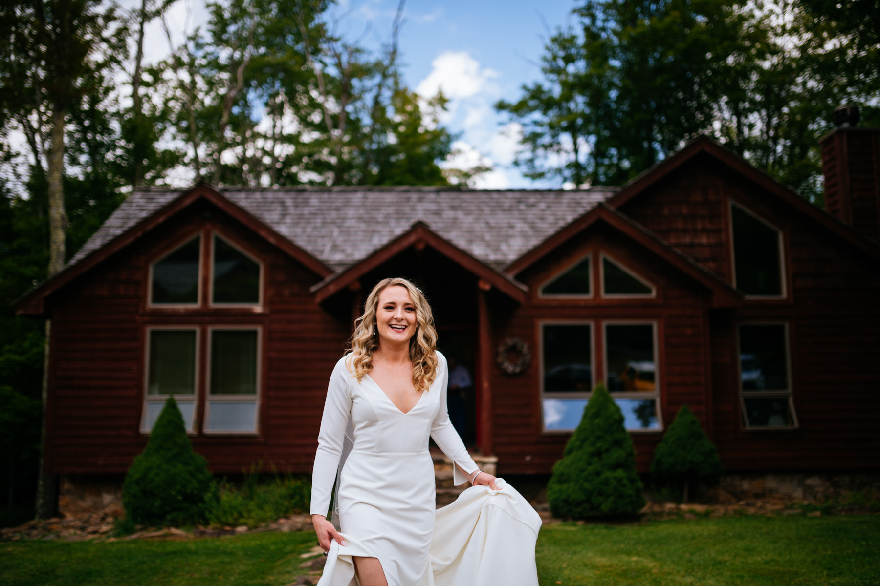 bride at canaan valley