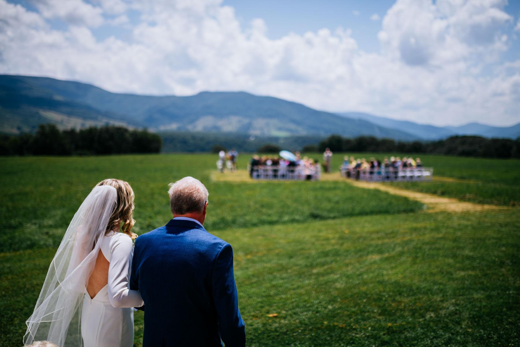 nelson farm wedding wv