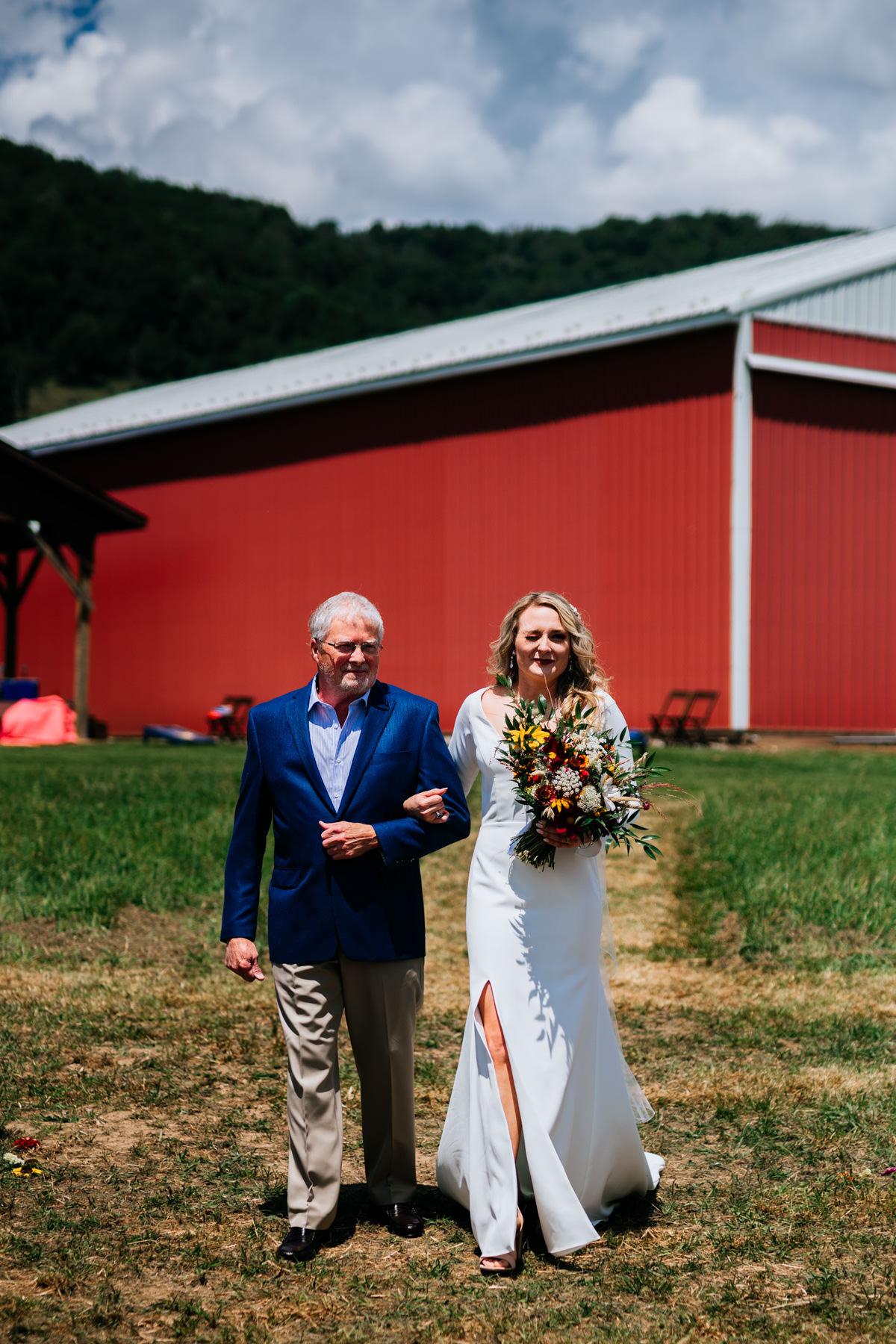 nelson farm wv wedding