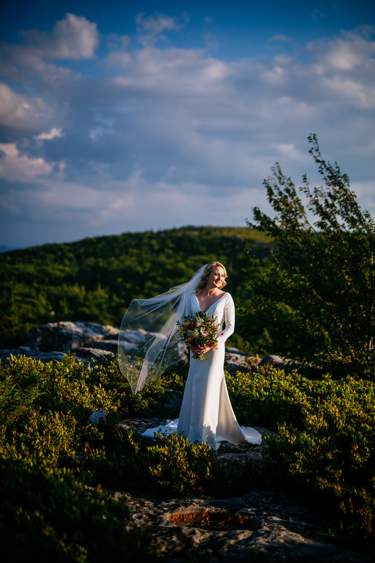 dolly sods bridal portraits