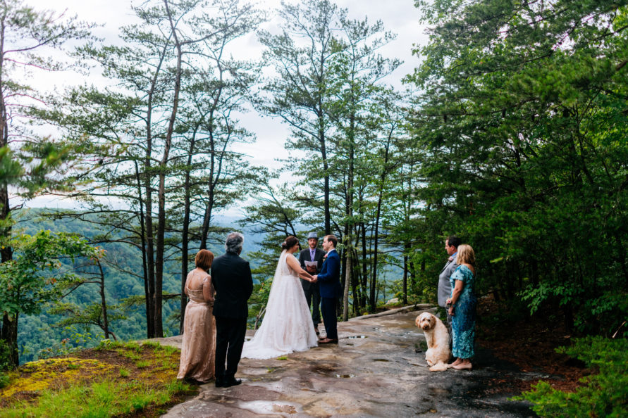 beauty mountain wedding fayetteville wv