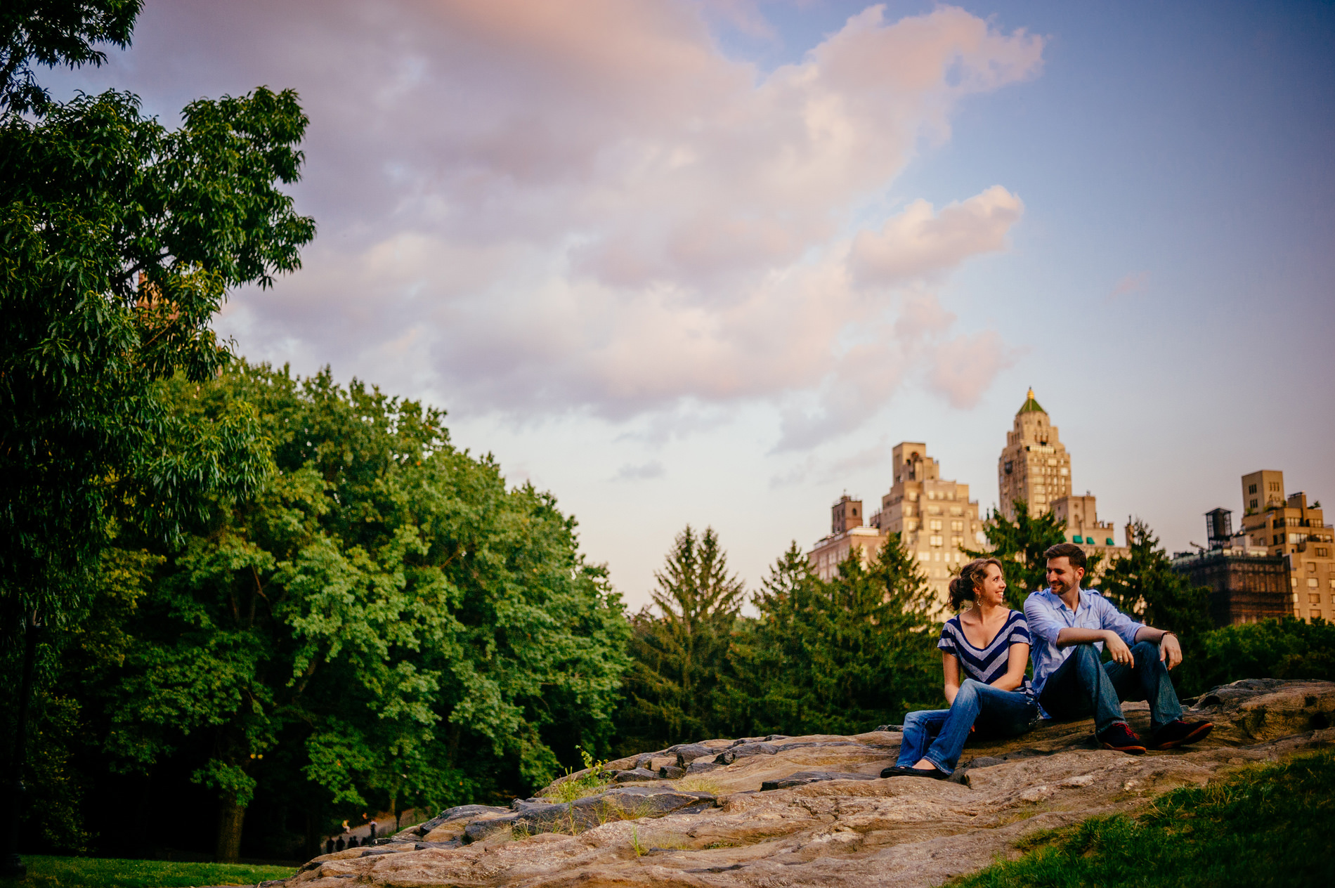 nyc new york city manhattan engagement photos central park cedar hill by the oberports