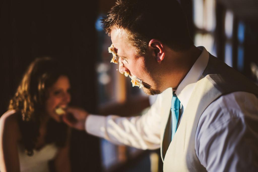 pipestem wedding westvirginia cakecutting