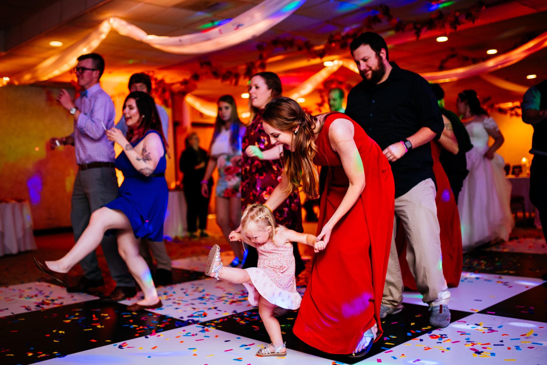 baby doing cupid shuffle