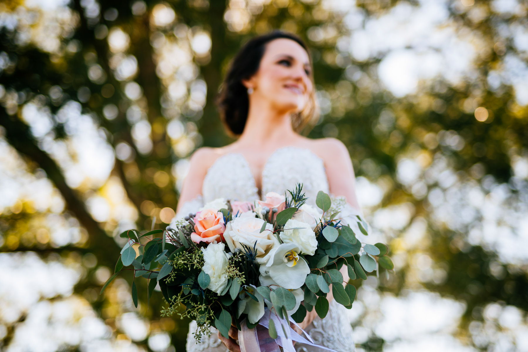 wedding bouquet rooted by design