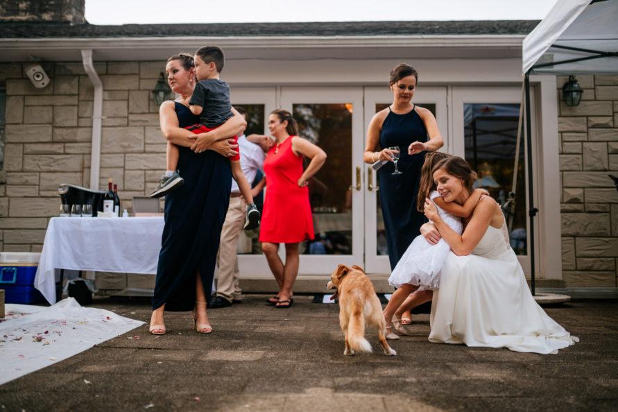 wv backyard minimony family mingling