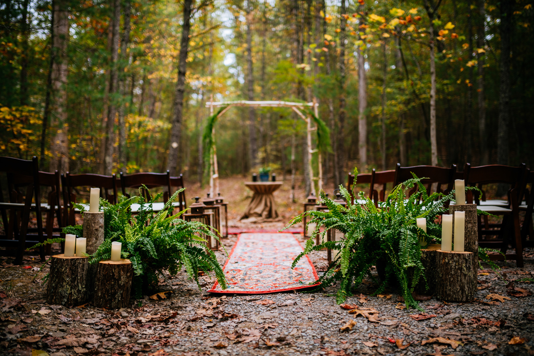greenbrier state forest wedding ceremony
