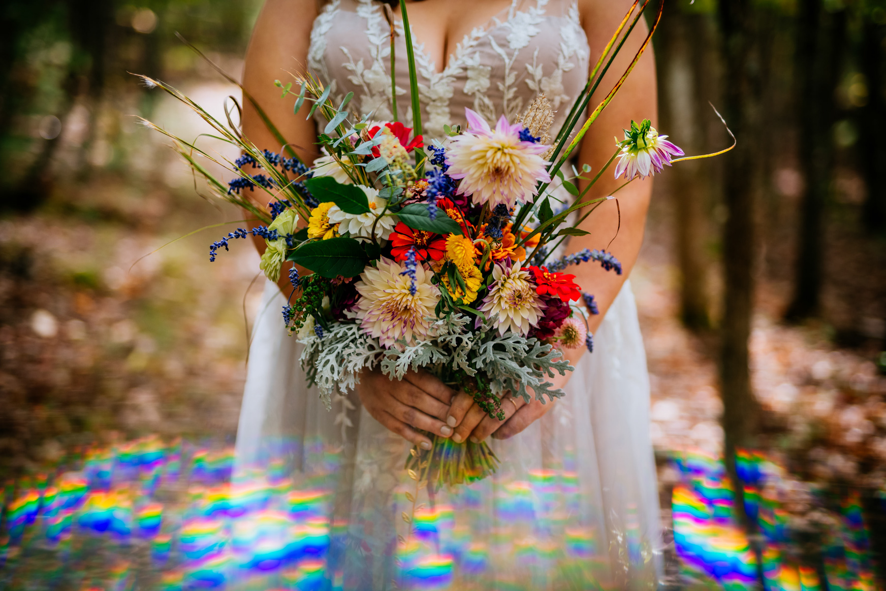 bridal bouquet true heart flower farm