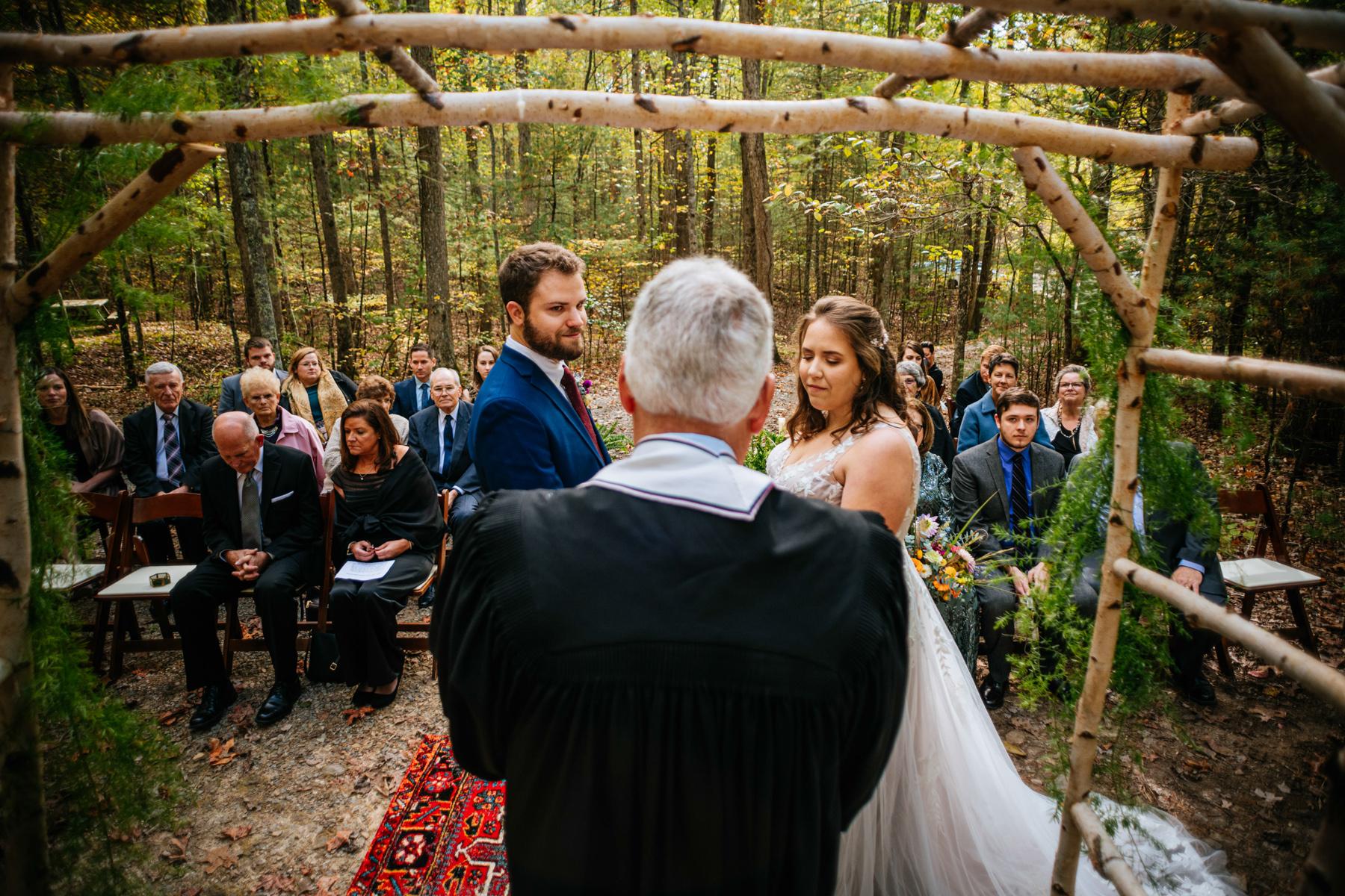 wv micro wedding ceremony